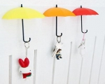 ست 6تایی آویز چسبی فانتزی آشپزخانه طرح چتر