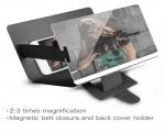داکت چرمی بزرگنمایی تصویر موبایل 3D PAK